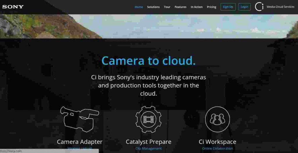 Sony Media Cloud Services